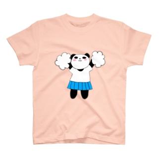 チアぱんだ T-shirts