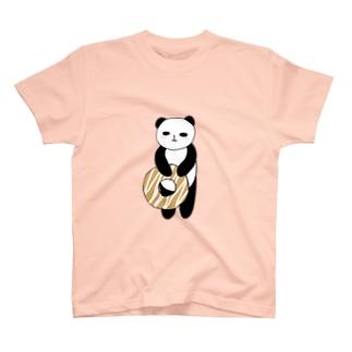 ドーナツぱんだ T-shirts