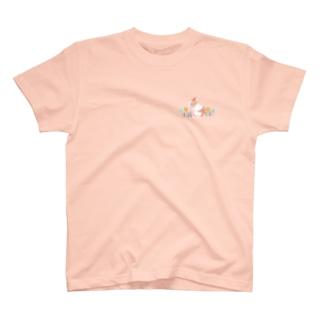 クシクシうさぎ T-shirts