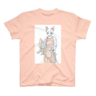 剣道ねこさん T-shirts
