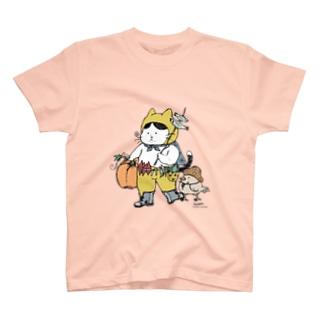 実りの秋ねこ(きのこねこ続編) T-shirts