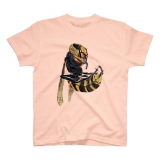 オオスズメバチの新女王 T-shirts