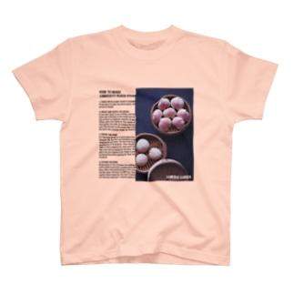 ♡オーダー前のみpt♡長寿桃の蒸しパンの作り方 T-shirts