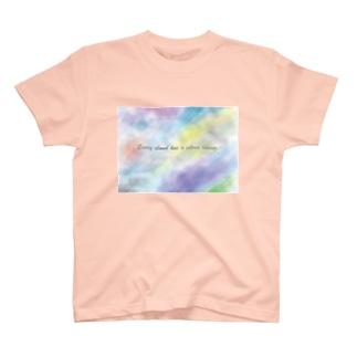 雲T(※前だけプリント) T-shirts