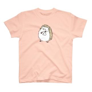 ハリネズミとトライアングル T-shirts