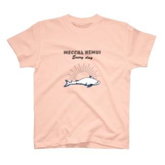 MECCHA NEMUI さめ T-shirts