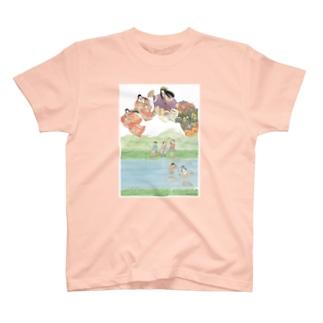 加茂およぐ T-shirts