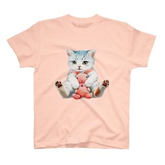 まなつ&まふゆの遊んでくれ🐱  T-shirts