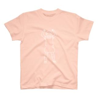 おこ女の子 T-shirts