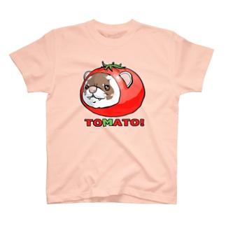 とめぁと!フェレット T-shirts