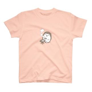 珈琲ハリネズミ T-shirts