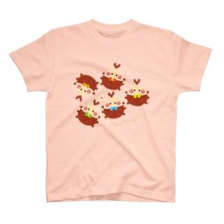 かぶとむし T-shirts