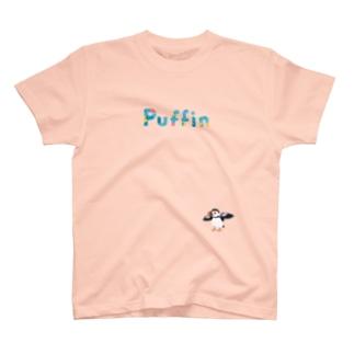 パフィン 濃色 T-shirts