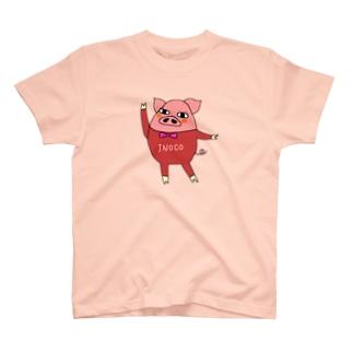 INOCOさん(背面ロゴ入り) T-shirts