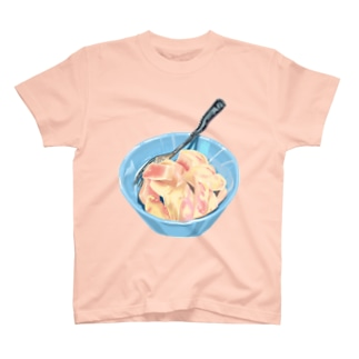 カット桃 T-shirts