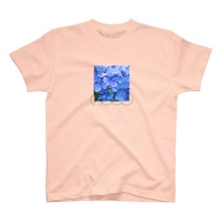 あじさい青② T-shirts