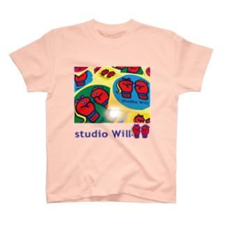 studio Will×INGRID カラフルオリジナルTシャツ_A T-shirts
