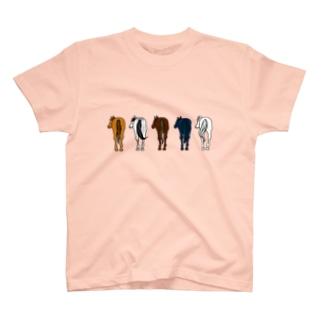 【うまけつ】サラブレッド T-shirts