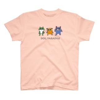 DOG PARADISE T-shirts