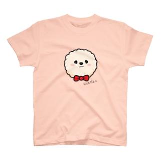 ししもの大きい顔Tシャツ T-shirts
