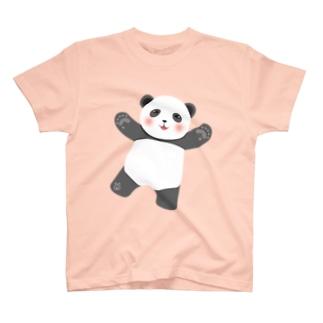 ゆるかわパンダ T-shirts