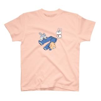 ダメージジーンズ工房(ラビット支店) T-Shirt