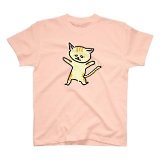 踊るスナネコ T-shirts