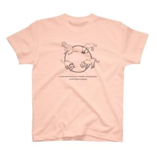 我慢しないで!シリーズ TORO Tシャツ T-shirts