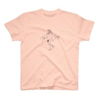 マチダタケル - This City Girl T-shirts