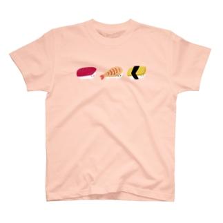 寿司プードル三貫 T-shirts