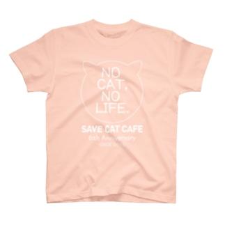 6周年記念アイテム「NC, NL.」Frontprint/WhiteLine T-shirts
