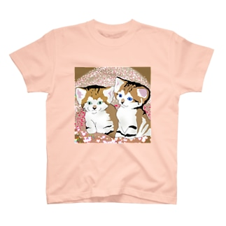 スナネコ兄妹 来夢くんと来苺ちゃん Part2 T-shirts