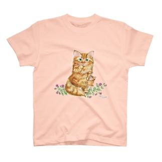すももとミニバラ T-Shirt