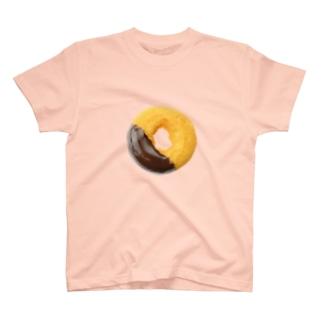 チョコがけドーナツ T-shirts