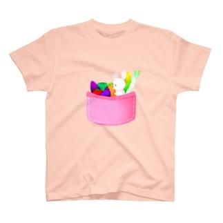 ポケットの中のおやさい T-shirts
