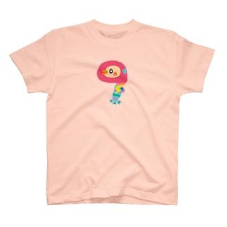えんぎものすうじ 9 アマビエ T-shirts