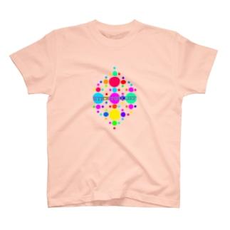 🍡ドット🍡 T-shirts