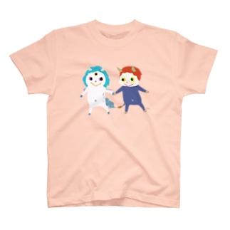 おばけTシャツ<白澤と件> T-shirts