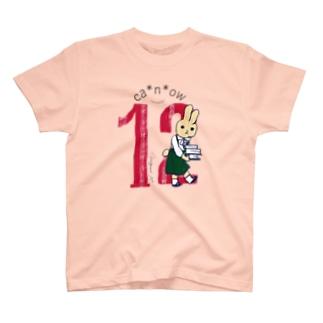ca*n*ow2021『12』Tシャツ T-Shirt