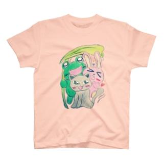 どうぶつトリオ T-shirts