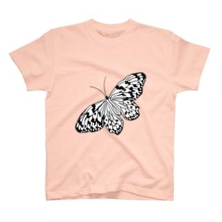オオゴマダラ 蝶の頂点 T-shirts