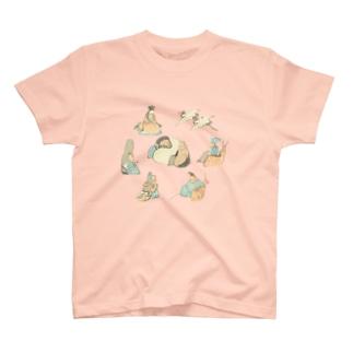 広重の七福神<江戸時代のイラスト> T-Shirt