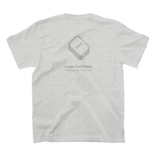 """MaaS x Card ファシリテーターズ """"I can facilitate"""" グレー T-shirts"""