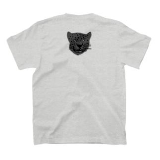背面小ぶりポイントジャガー T-shirts