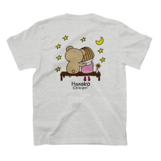 星(バックプリント/色変更可能) T-shirts