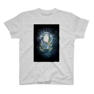 電球アザラシ・ケース T-shirts