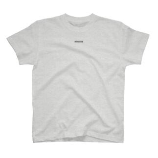 黒地に白文字🖤🤍小BOXロゴ🎶ダカラナンナン? T-shirts