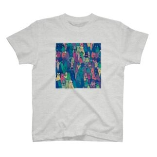 群 衆 -密-  T-shirts