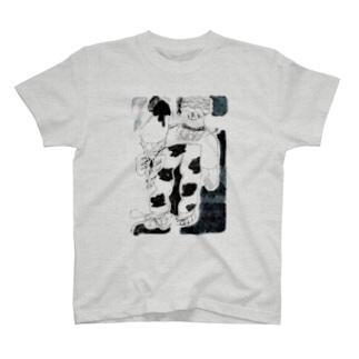 ラッコ印のアイスクリーム T-shirts