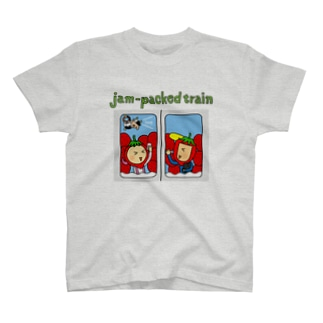 jam-packed train Tシャツ T-shirts